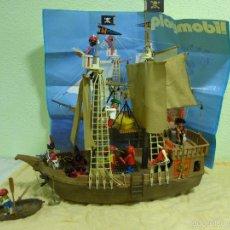 Playmobil: ANTIGUO BARCO PIRATA-CLICKS PLAYMOBIL. ORIGINAL GEOBRA AÑO 1974. REF. 3550. SE INCLUYE PÓSTER. Lote 56850791