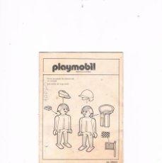 Playmobil: HOJA DE INSTRUCCIONES PLAYMOBIL 59803 ANTIGUO. Lote 56919488