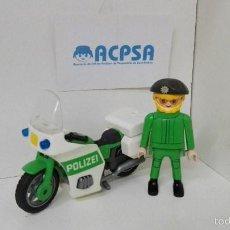 Playmobil: PLAYMOBIL MOTORISTA POLICA. Lote 56961350