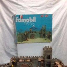 Playmobil: PLAYMOBIL - ANTIGUO CASTILLO FAMOBIL PLAYMOBIL REFERENCIA 3446 EN SU CAJA ORIGINAL . Lote 57278313