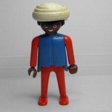 Playmobil: FIGURA NEGRO CON TURBANTE PLAYMOBIL GEOBRA. Lote 57357481