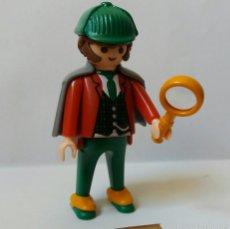 Playmobil: PLAYMOBIL SHERLOCK HOLMES DETECTIVE VICTORIANO. Lote 153806521