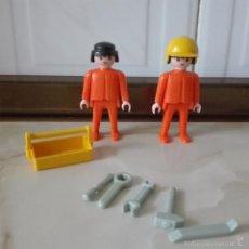 Playmobil: PILOTO MECANICO HERRAMIENTAS FAMOBIL PLAYMOBIL GEOBRA. Lote 57579139