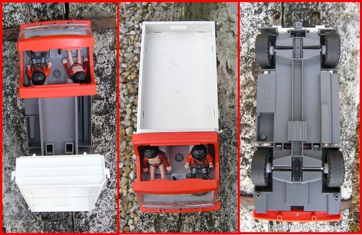 CAMIÓN DE CONSTRUCCIÓN PLAYMOBIL Nº 5283....DE LA COLECCIÓN CITY ACTION...MIDE 28 X11,5 X 14,5 CMS (Juguetes - Playmobil)
