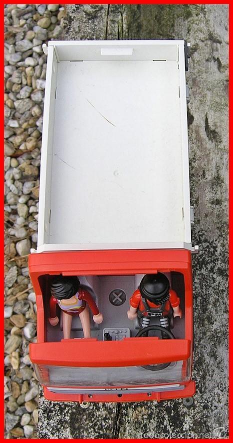 Playmobil: Camión de Construcción Playmobil nº 5283....de la Colección CITY Action...mide 28 X11,5 X 14,5 cms - Foto 2 - 57655889