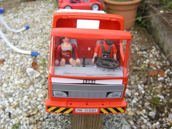 Playmobil: Camión de Construcción Playmobil nº 5283....de la Colección CITY Action...mide 28 X11,5 X 14,5 cms - Foto 3 - 57655889