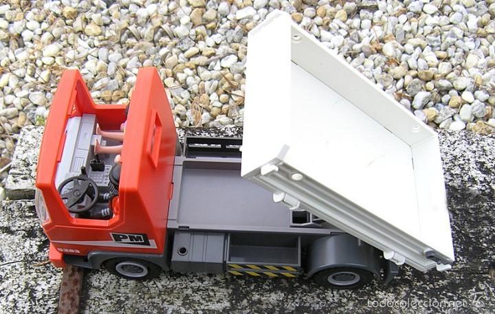Playmobil: Camión de Construcción Playmobil nº 5283....de la Colección CITY Action...mide 28 X11,5 X 14,5 cms - Foto 5 - 57655889