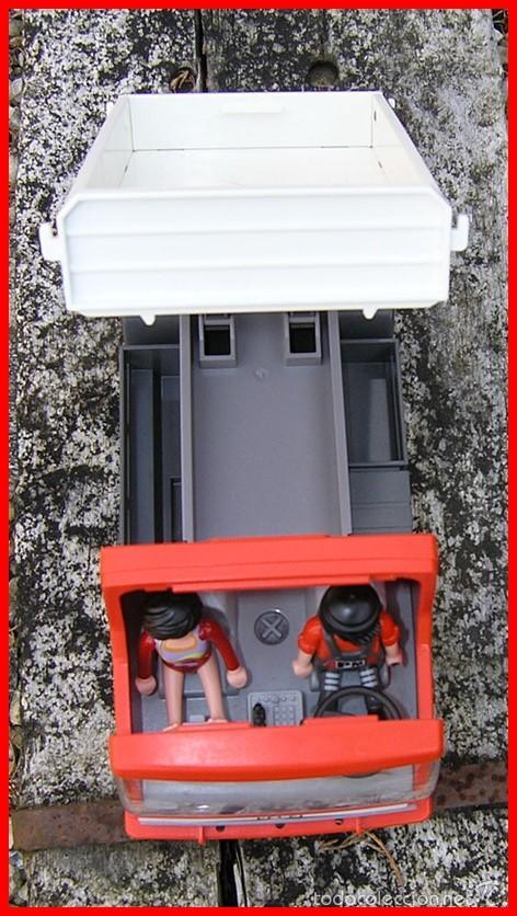 Playmobil: Camión de Construcción Playmobil nº 5283....de la Colección CITY Action...mide 28 X11,5 X 14,5 cms - Foto 6 - 57655889