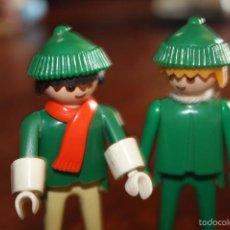 Playmobil: 2 PLAYMOBIL 1974 GEOBRA CLICK FAMOBIL 1ª GENERACIÓN. Lote 57662779