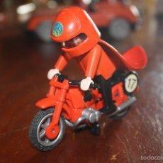 Playmobil: MOTORISTA PLAYMOBIL 1974 GEOBRA CLICK FAMOBIL 1ª GENERACIÓN. Lote 57662893