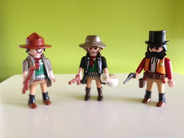 LOTE FIGURAS OESTE PLAYMOBIL (Juguetes - Playmobil)