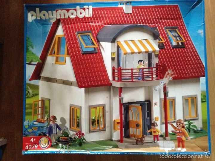 Casa moderna playmobil referencia 4279 comprar playmobil for Casa playmobil precio