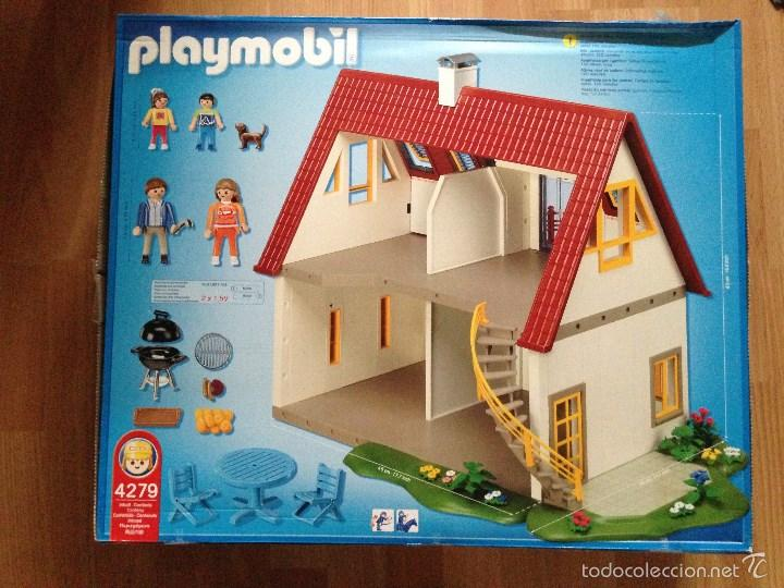 Casa moderna playmobil referencia 4279 comprar playmobil for 4279 playmobil