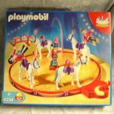 Playmobil: DOMA DE CABALLOS DEL CIRCO DE PLAYMOBIL REF. 4234 COMPLETO Y A ESTRENAR. Lote 58020779