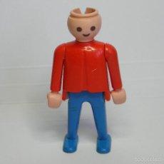 Playmobil: FIGURA PLAYMOBIL ROJO Y AZUL. Lote 58083906