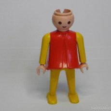 Playmobil: FIGURA PLAYMOBIL CHICA ROJO Y AMARILLO. Lote 58083956