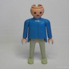 Playmobil: FIGURA PLAYMOBIL AZUL Y BLANCO. Lote 58084020