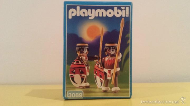 PLAYMOBIL 3089 DESCATALOGADO NATIVOS ZULU (Juguetes - Playmobil)