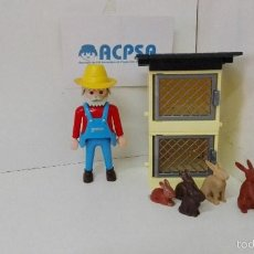 Playmobil: PLAYMOBIL CONEJERO. Lote 58509119