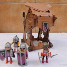 Playmobil: TORRE DE ASALTO BARBARA DE PLAYMOBIL REF4439. Lote 59078945