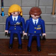 Playmobil: PLAYMOBIL. REF. 3185. FIGURA HOMBRE PILOTO TRIPULACIÓN AVIÓN AEROPUERTO. OFERTA. Lote 103240723
