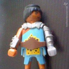 Playmobil: PLAYMOBIL FIGURA SOLDADO GUERRERO MEDIEVAL VIKINGO O SIMILAR . Lote 59437360