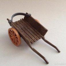 Playmobil: PLAYMOBIL APRECIADO CARRO MANO CARRETILLA BELEN MEDIEVAL CASTILLO MEDIEVALES PIEZAS. Lote 147789762