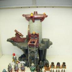 Playmobil: PLAYMOBIL LOTE TORRE DRAGÓN + FIGURAS Y ACCESORIOS,CABALLEROS MEDIEVALES,ROMANOS,EGIPCIOS. Lote 234979215