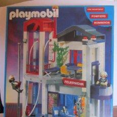 Playmobil: PLAYMOBIL REF 3885 CUARTEL BOMBEROS, EN CAJA. CC. Lote 59951707