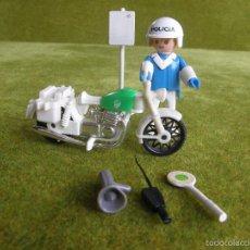 Playmobil: FAMOBIL. POLICIA EN MOTO. REF. 3572. Lote 59978699