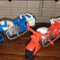 Playmobil: PLAYMOBIL. 3208 FAMOBIL. MOTOCICLETA MOTORISTA MOTO POLICÍA POLICE. OFERTA!1 AÑOS 70. Lote 60710347