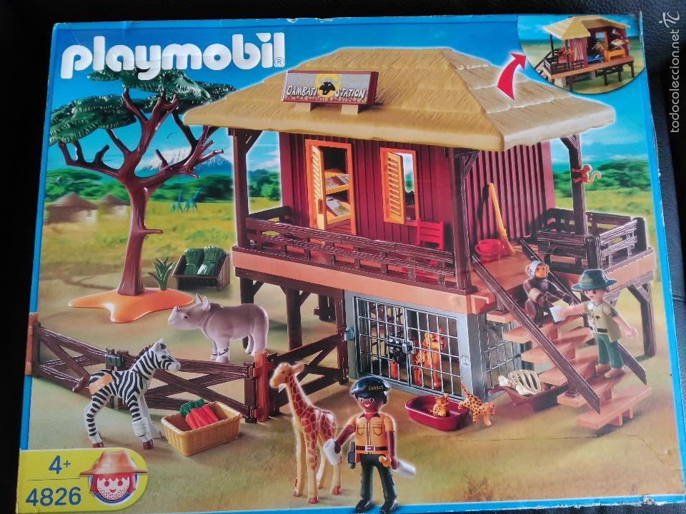 Playmobil 4826 oambati station refugio animal a comprar for Casa playmobil precio