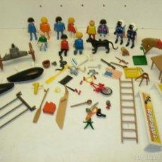 Playmobil: PLAYMOBIL Y FAMOBIL LOTE FIGURAS Y ACCESORIOS, DIFERENTES TEMAS Y ÉPOCAS. Lote 60802165