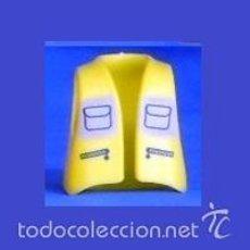 Playmobil: PLAYMOBIL PIEZAS CHALECO LARGO, CHAQUETA, CIUDAD, BOMBEROS CONSTRUCCIÓN AMARILLO CON BOLSILLOS. Lote 60913403