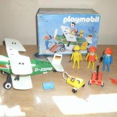 Playmobil: PLAYMOBIL 3246. BIPLANO (AVIONETA). CIUDAD (CITY). CAJA. COMPLETO*. VINTAGE. Lote 60921475