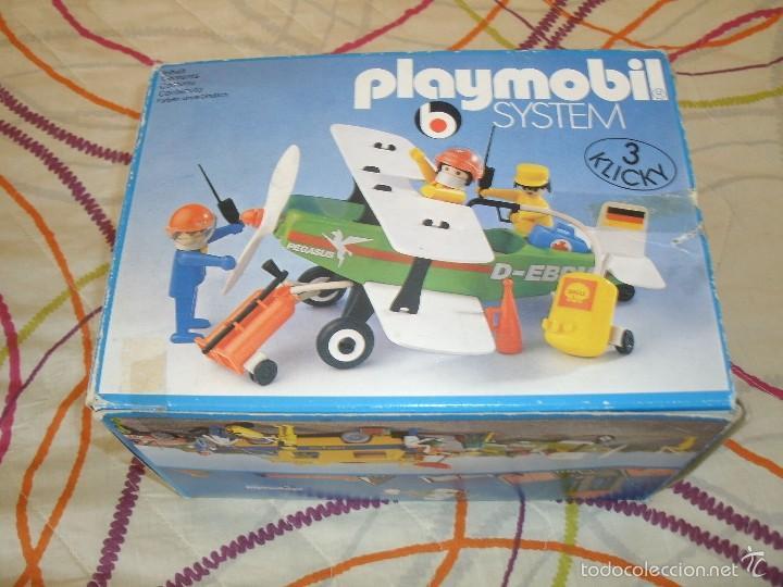 Playmobil: Playmobil 3246. BIPLANO (AVIONETA). Ciudad (city). Caja. Completo*. Vintage - Foto 2 - 60921475