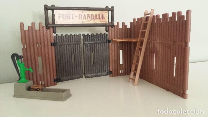 PLAYMOBIL FORT RANDALL PIEZAS WESTERN OESTE POZO, FUENTE (Juguetes - Playmobil)