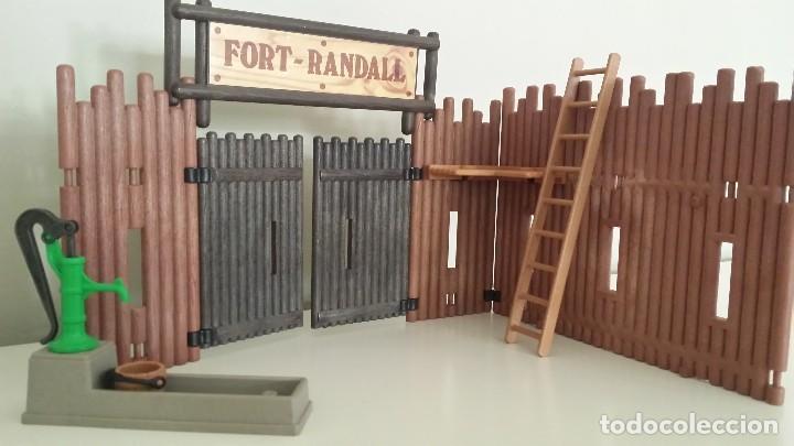 Playmobil: PLAYMOBIL FORT RANDALL PIEZAS WESTERN OESTE POZO, FUENTE - Foto 2 - 61472087