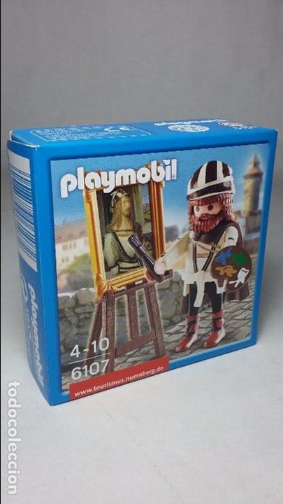 PLAYMOBIL 6107 SPECIAL PINTOR DURERO MEDIEVAL (ZCETA) (Juguetes - Playmobil)
