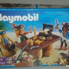 Playmobil: PLAYMOBIL 4292 TRIPULACION PIRATA EN CAJA. Lote 62046480