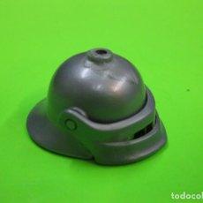 Playmobil: PLAYMOBIL CASCO YELMO MEDIEVAL CABALLERO CON VISERA. Lote 294154218