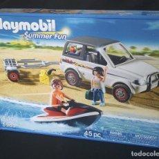 Playmobil: PLAYMOBIL REF.5965 TODOTERRENO CON REMOLQUE Y MOTO DE AGUA. Lote 62746816