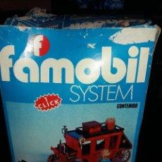 Playmobil: DILIGENCIA ANTIGUA FAMOBIL NO PLAYMOBIL, GEOBRA AÑOS 70. REF 3245. Lote 62883484