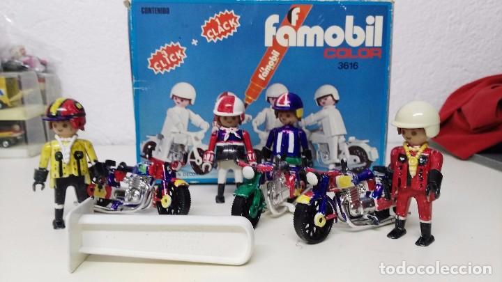 ANTIGUA CAJA DE FAMOBIL PLAYMOBIL COLOR (Juguetes - Playmobil)