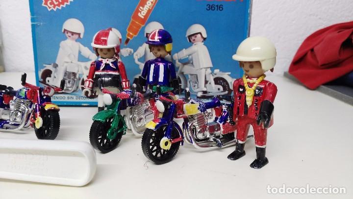 Playmobil: antigua caja de famobil playmobil color - Foto 3 - 127605698