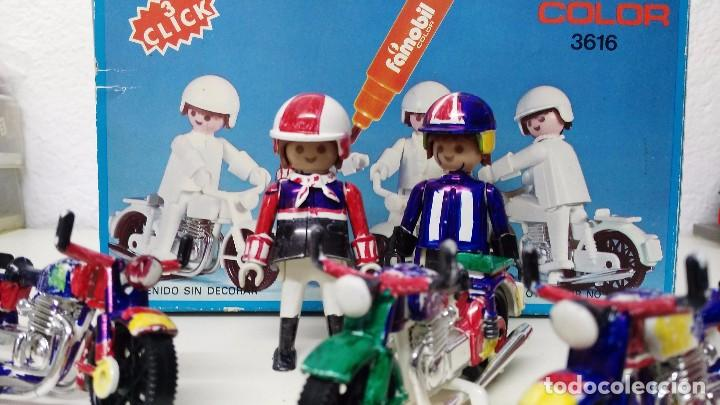 Playmobil: antigua caja de famobil playmobil color - Foto 6 - 127605698
