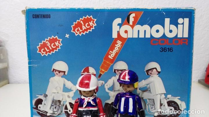 Playmobil: antigua caja de famobil playmobil color - Foto 7 - 127605698