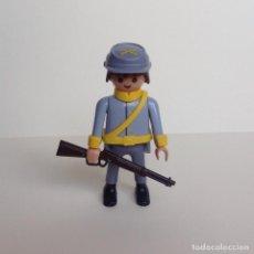 Playmobil: PLAYMOBIL DEL OESTE SOLDADO CONFEDERADO (01). Lote 110061232