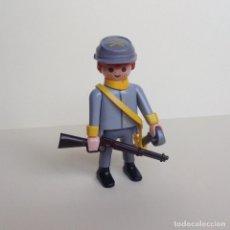 Playmobil: PLAYMOBIL DEL OESTE SOLDADO CONFEDERADO (02). Lote 110061263