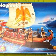 Playmobil: PLAYMOBIL 4276 GALERA ROMANA CON CAJA PERFECTA A ESTRENAR, TOTALMENTE PRECINTADA. VER FOTOS. Lote 63981343